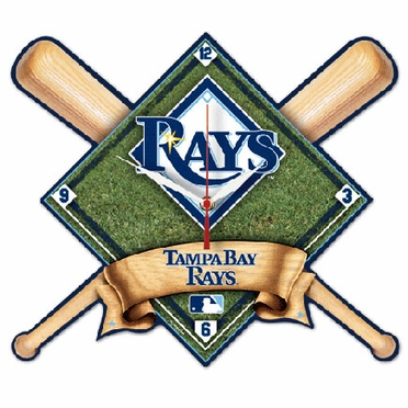 Tampa Bay Rays High Definition Wall Clock