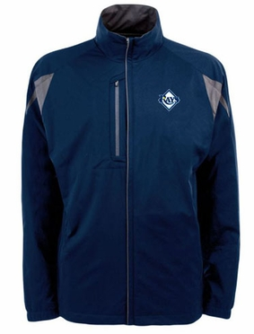 Tampa Bay Rays Mens Highland Water Resistant Jacket (Team Color: Navy)