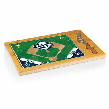 Tampa Bay Rays Icon 3 Piece Cheese Set