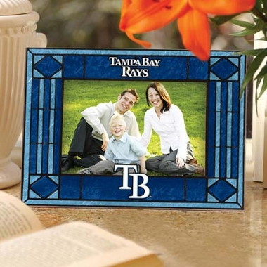 Tampa Bay Rays Landscape Art Glass Picture Frame