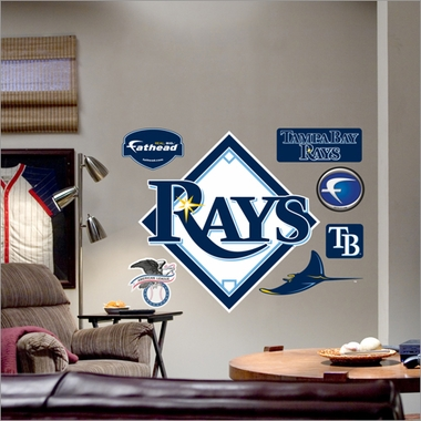 Tampa Bay Rays Logo Fathead Wall Graphic