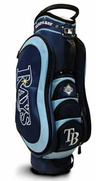 Tampa Bay Rays Medalist Cart Bag