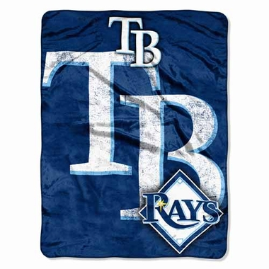 Tampa Bay Rays Microfiber Throw