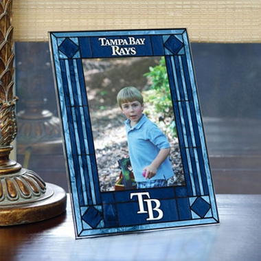 Tampa Bay Rays Portrait Art Glass Picture Frame