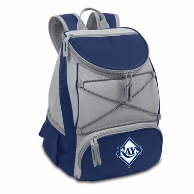 Tampa Bay Rays PTX Backpack Cooler (Navy)