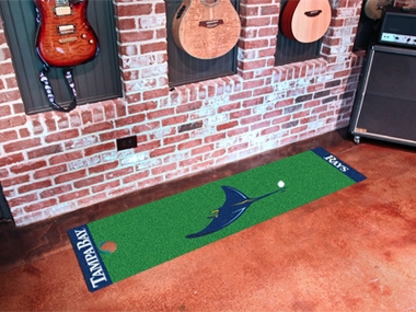 Tampa Bay Rays Putting Green Mat