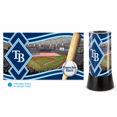Tampa Bay Rays Rotating Lamp