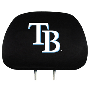 Tampa Bay Rays Set of Headrest Covers