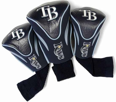 Tampa Bay Rays Set of Three Contour Headcovers