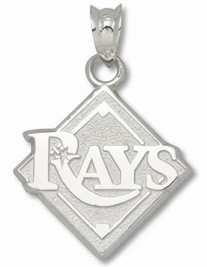 Tampa Bay Rays Sterling Silver Pendant