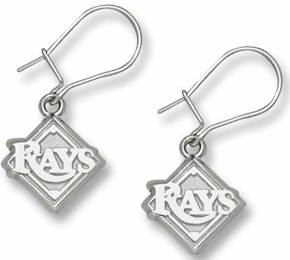 Tampa Bay Rays Sterling Silver Post or Dangle Earrings