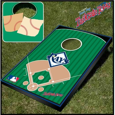 Tampa Bay Rays Tailgate Toss Cornhole Beanbag Game