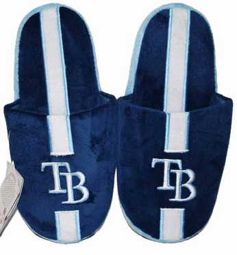 Tampa Bay Rays Team Stripe Slide Slippers