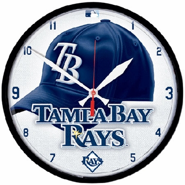 Tampa Bay Rays Wall Clock