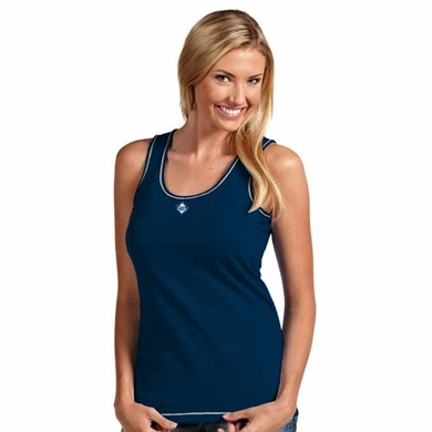 Tampa Bay Rays Womens Sport Tank Top (Team Color: Navy)