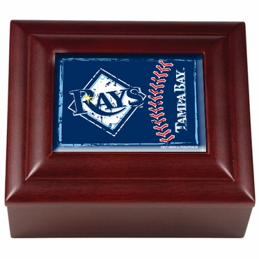 Tampa Bay Rays Wooden Keepsake Box