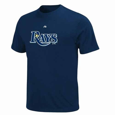 Tampa Bay Rays YOUTH Official Wordmark T-Shirt - Navy