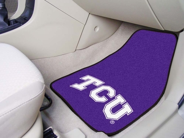 TCU 2 Piece Car Mats