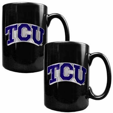 TCU 2 Piece Coffee Mug Set