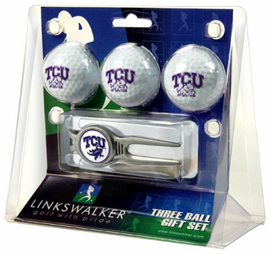 TCU 3 Ball Gift Pack With Kool Tool