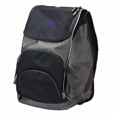 TCU Action Backpack (Color: Black)