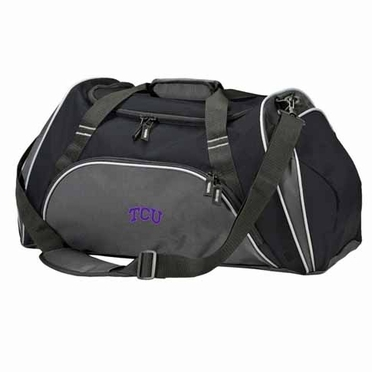 TCU Action Duffle (Color: Black)