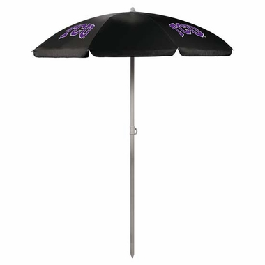 TCU Beach Umbrella (Black)
