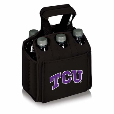 TCU Beverage Buddy (6pk) (Black)