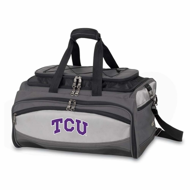 TCU Buccaneer Tailgating Embroidered Cooler (Black)