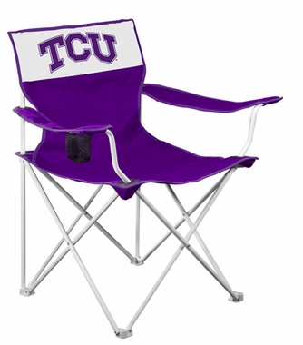 TCU Canvas Adult Folding Logo Chair