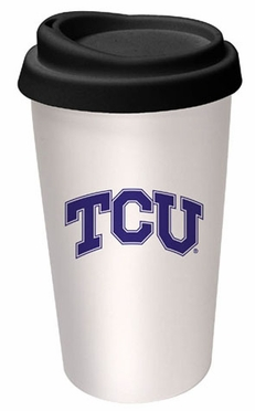 TCU Ceramic Travel Cup