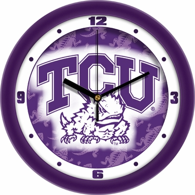 TCU Dimension Wall Clock