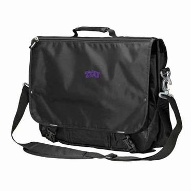 TCU Executive Attache Messenger Bag