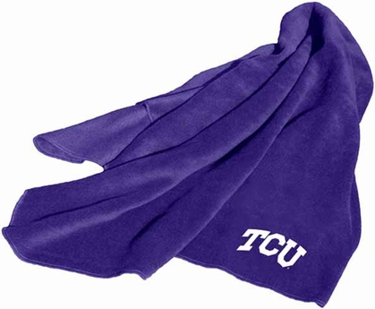 TCU Fleece Throw Blanket