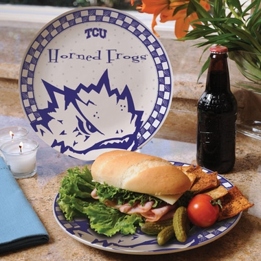 TCU Gameday Ceramic Plate