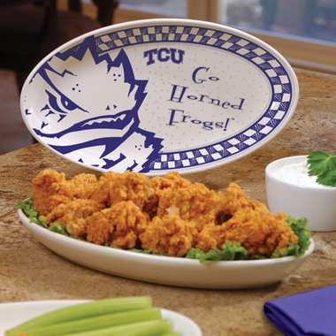 TCU Gameday Ceramic Platter