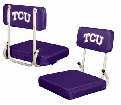 TCU Hard Back Stadium Seat