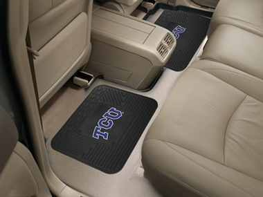TCU SET OF 2 Heavy Duty Vinyl Rear Car Mats