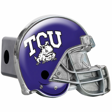 TCU Metal Helmet Trailer Hitch Cover
