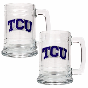TCU Set of 2 15 oz. Tankards