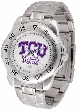 TCU Sport Men's Steel Band Watch