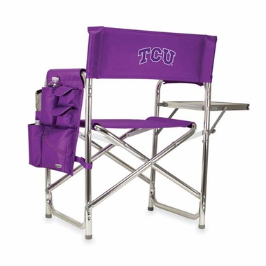 TCU Sports Chair (Purple)