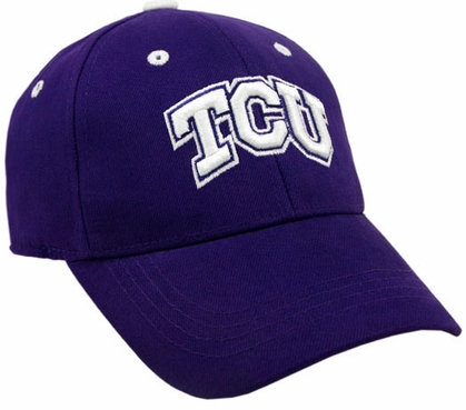 TCU Team Color Premium FlexFit Hat