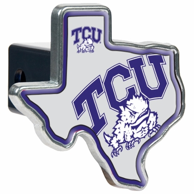 TCU Texas Shaped Trailer Hitch Cover