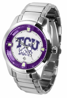 TCU Titan Men's Steel Watch