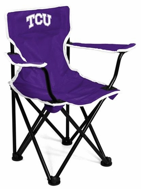 TCU Toddler Folding Logo Chair