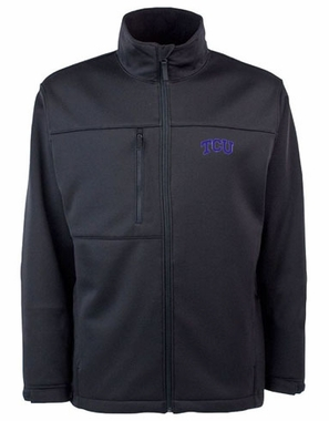TCU Mens Traverse Jacket (Team Color: Black)