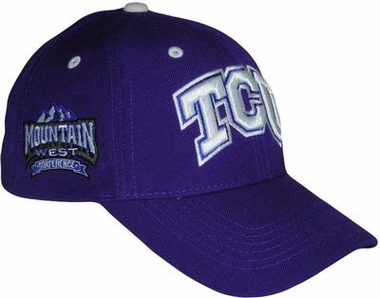 TCU Triple Conference Adjustable Hat