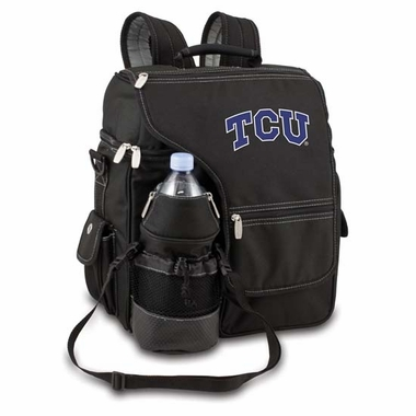 TCU Turismo Embroidered Backpack (Black)