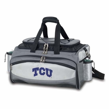TCU Vulcan Embroidered Tailgate Cooler (Black)